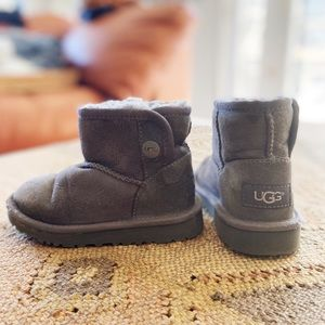 Children's Ugg Boots- with snap for easy on & off